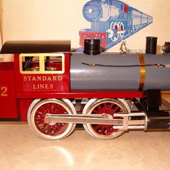 Standard Guage Train Kit (must be assembled) by Classic Models Corp. - Model Trains