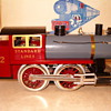 Standard Guage Train Kit (must be assembled) by Classic Models Corp.