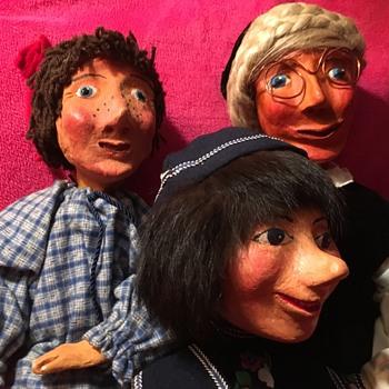 Unknown Vintage Artist Dolls - Dolls
