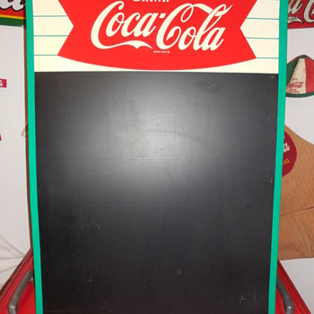 1963 Coca-Cola Menu Board