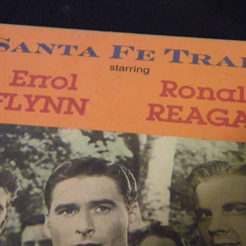Santa Fe Trail VHS - Starring Errol Flynn & Ronald Regan
