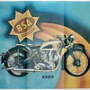 DomiRacer Motorcycle Advertising Poster - 1939 B.S.A.
