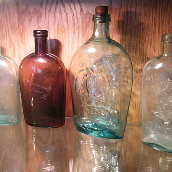 Pikes Peak, Baltimore Glass Works, Anchors Etc... - Bottles