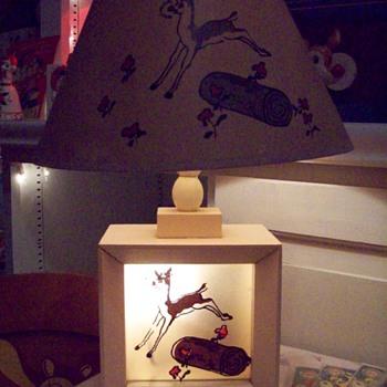 Rudolph Lamp Mary Catherine Hammitt