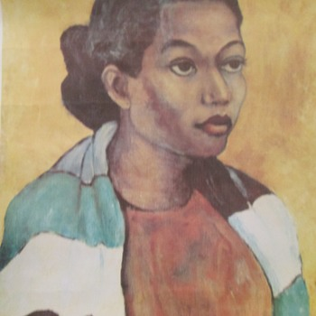 """Nina,"" by Karl R. Broodhagen (1909 - 2002)."