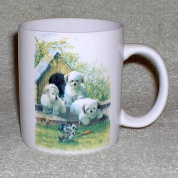 Puppies - Coffee Mugs Set - Kitchen