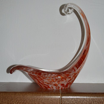 Splatter glass piece - ALTAGLASS, Canada - Art Glass