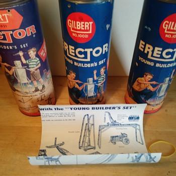 Canister Erector Sets - Toys