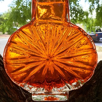 Perfect sunburst - Art Glass