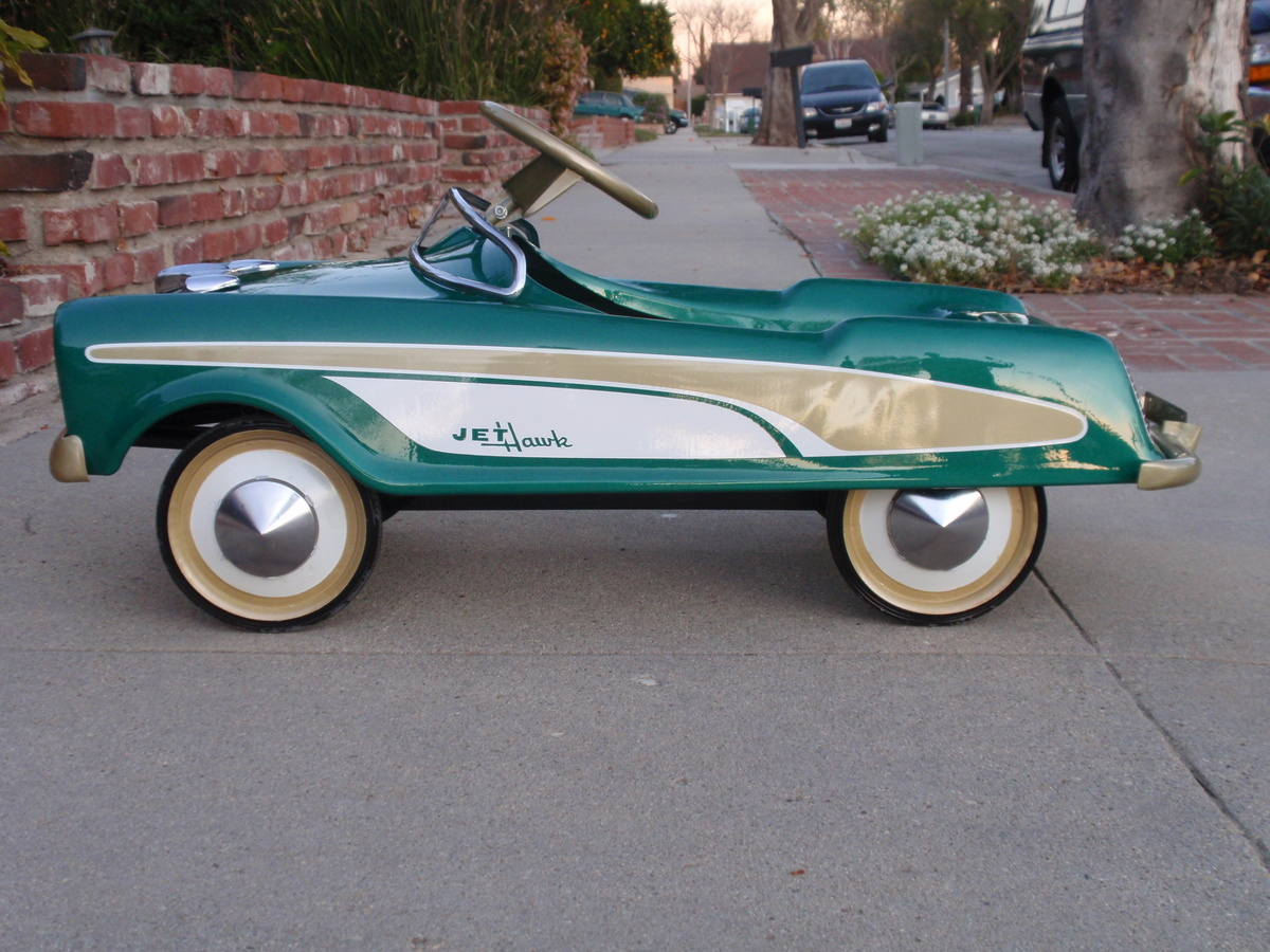 Midwest Industries 1957 Jet Hawk Studebaker pedal car | Collectors ...