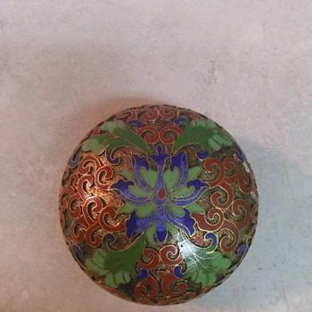 CLOISONNE ENAMEL BOX - Fine Jewelry