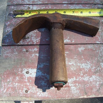 ANTIQUE COOPERS ADZE - Tools and Hardware