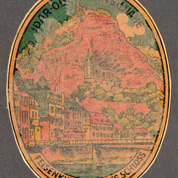 Travel Decal - Idar-Oberstein (Germany)