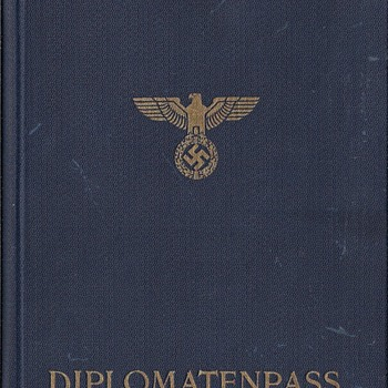 WW2 issued Diplomatic passport for the Far East