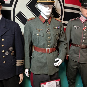 """Original WWII German Army, """"Heer"""" General tunic of Wilhelm Ulex - Military and Wartime"""