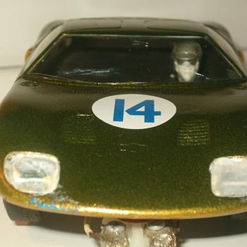 1/32 K&B FORD GT SLOT CAR - Model Cars