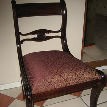 a chair to remember
