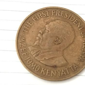 Kenyan coin  - World Coins