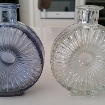 Riihimaki Helena Tynell Sun Vases  - Art Glass