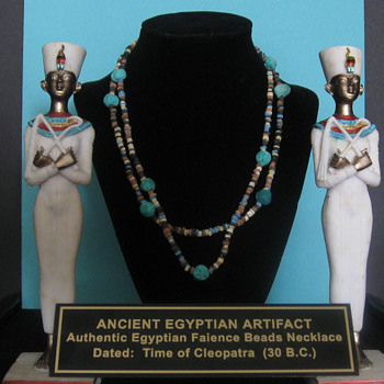 Ancient Egyptian Artifact . . . Necklace
