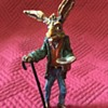 Austrian Cold Painted Bronze Panhandler Hare