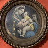 Religious picture frame with picture