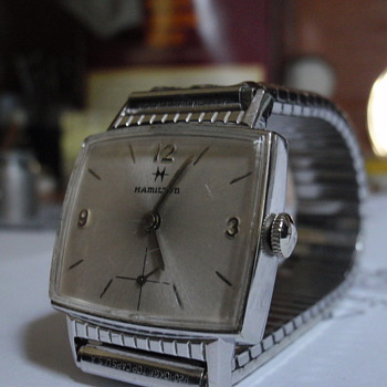1962 Hamilton Gary 10K white gold filled - Wristwatches