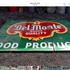 Del Monte Foods Porcelain Sign