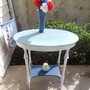 Antique Table Redone - Furniture