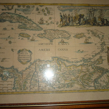 Old Carib maps - Posters and Prints