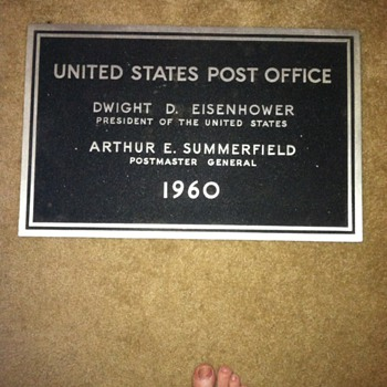 United States post office Dwight D. Eisenhower
