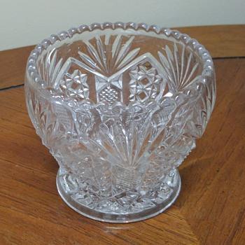 Small Glass Bowl - Glassware