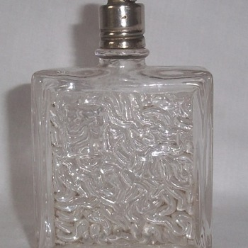 Perfume bottle with unique stopper. - Bottles