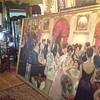 Impressionist Mystery! Plaza Hotel New York   10' x 7' Renoir Style