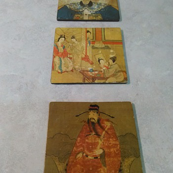 ASIAN ART COASTERS - Breweriana