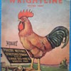"""Vintage G.F Wright """"Wrightline""""advertising poster"""