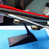 Northwest Boeing 747-400 plastic model (push-fit)