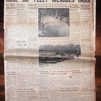 WWII Newspapers 1