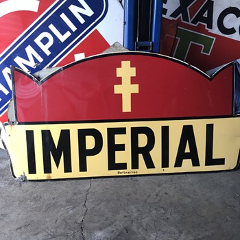 Imperial Porcelain Sign - Signs