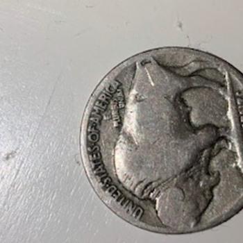 Buffalo Nickel broadstruck - US Coins