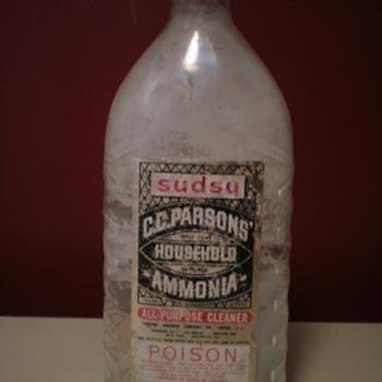 Sudsy bottle - Bottles