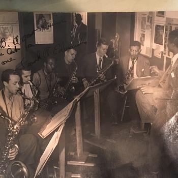 Sax player - Photographs