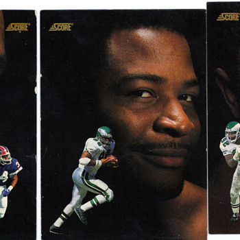 reggie white, keith jackson, thurman thomas favorite football players