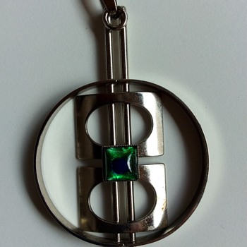 Big modernist pendant