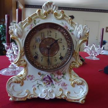 Antique Ansonia Clock - Clocks