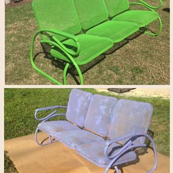 Steel Bench  - Furniture