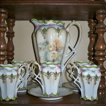 Chocolate Set - China and Dinnerware