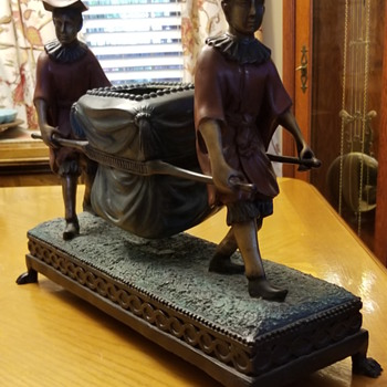 Asian Bronze Jardiniere - Asian
