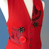 1968 COLES of LONDON OOAK MOD Hippie Era Vest /  Waistcoat