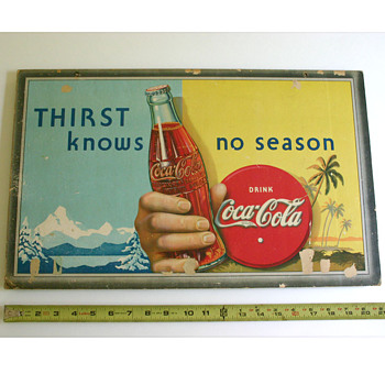 "My Coca-Cola ""Thirst knows no season"" - Coca-Cola"